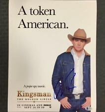 CHANNING TATUM Signed KINGSMAN 11x14 Movie Poster Photo w/ BAS Beckett COA Auto