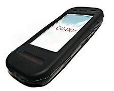 Silicona TPU, móvil cover case funda negra para Nokia c6 + protector de pantalla
