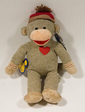 NWT BUILD A BEAR SOCK MONKEY LIMITED EDITION NUMBERED RETIRED NEW