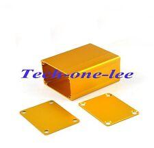 Aluminum Box Project Case Enclousure Electronic Gold Hard 50*38.5*30mm (L*W*H)