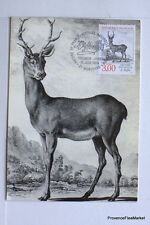 yt 2540   FRANCE  Carte Postale Maximum BUFFON LE CERF  MONTBARD