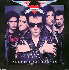 Flesh For Lulu 1989 Plastic Fantastic Promo Poster Original