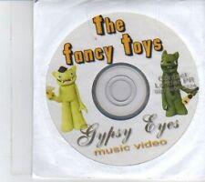 (DR819) The Fancy Toys, Gypsy Eyes - DJ DVD