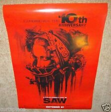 Saw 10th Anniversary Special Original Movie Poster, 27x40 Size, Free Shipping