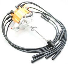 Orange HEI Distributor Coil Black 8.5mm Spark Plug Wires 56-65 Chevy 348 409 V8