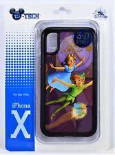 Disney Parks Exclusive Peter Pan & Tinkerbell 3-D Effect Apple Iphone 10 X Case