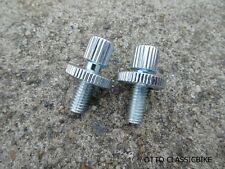 Honda CB125 CL125 CB160 CA72 CA77 CS77 Dream 305  Cable Adjusters Plated 2PCS