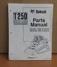 Bobcat T250 Parts Manual Book Skid Steer Loader 6902636 New