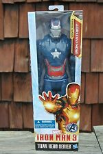 "*NEW* MARVEL 'Iron Patriot' Titan Hero Series IRON MAN The Avengers 12"" Figure"