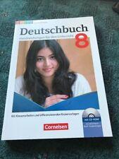 Deutschbuch 8. Handreichungen für den Unterricht.  Alle Lösungen