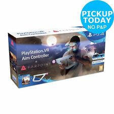 PS4 VR Aim Controller with Farpoint PS4 VR Game. From the Argos Shop on ebay