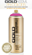 Montana GOLD 400ML Spray Paint [Pack of 24 Cans]