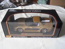 Maisto 2003 Chevrolet Corvette Guldstrand Signature Edition 1:18 Diecast