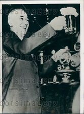 1938 St Paul MN Brewmaster William Figge  Press Photo