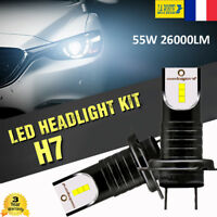 H7 voiture lampe phare LED ampoule 110W 26000LM Globe Beam conversion Kit 6000K