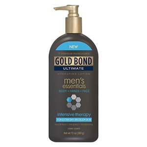 Gold Bond Ultimate Mens Essentials Intensive Therapy Lotion & Cream ,13 Oz