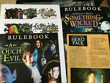 Flying Frog A Touch of Evil w/ Something Wicked, Allies, Hero Pack 1, Madness