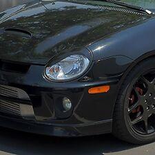 Dodge Neon pre-cut S-curve Headlight Eyelid Overlays - Gloss Black SRT4 R/T SXT