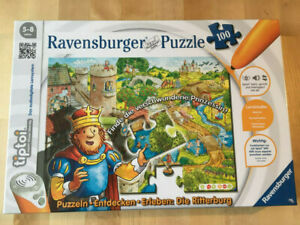 Ravensburger Tiptoi Puzzle 100 Die Ritterburg, 4005556005161, neu ovp in Folie