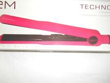 """GEM TECHNO 410 TRADITIONAL  CERAMIC SCIENCE TRADITIONAL 1"""" HAIRSTYLING IRON PINK"""