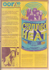MAGAZINE OOR 1971 nr. 10 - CANNED HEAT/KING CRIMSON/SHOCKING BLUE/SOFT MACHINE