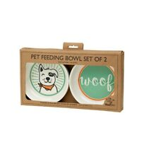 Ore' Originals Lucky Dog Pet Bowl Gift Set