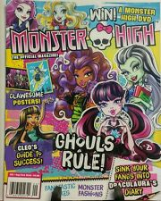 Monster High September October 2016 Ghouls Rule Clawsome DVD FREE SHIPPING sb