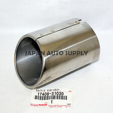 NEW OEM TOYOTA LEXUS IS250 IS350 CHROME MUFFLER EXHAUST TAILPIPE TIP 17408-31030