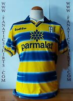 Parma A.C 1998-1999 Home Camiseta Futbol Lotto Shirt Trikot Maglia