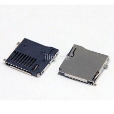 10pc 8 pin MICRO SD card TF Card Holder Memory Card Slot Connector Socket US