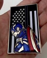 CAPTAIN AMERICA CIVIL WAR CHALLENGE COIN SUPERHERO MARVEL NON CPO NYPD BLUE LINE