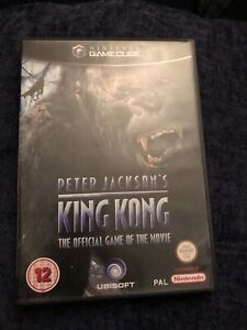 Peter Jackson's King Kong: The Official Game of the Movie gamecube pal version