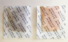 Silica Gel Indicating 5 gram Sachets  Pk of 25  `NEW  ` Colour Change Dessicant.