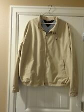 Tommy Hilfiger Rain Jacket Beige Size X-Large New With Tags