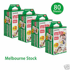 80 Sheet Fujifilm Instax Mini Film Fuji instant photos 7s 8 25 90 Polaroid 300