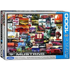 Ford Mustang Vintage Advertising 1000 piece jigsaw puzzle 68mm x 49mm (pz)