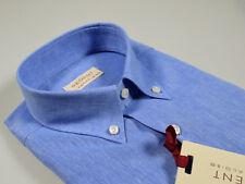 Camicia in Lino e Cotone Regent by Pancaldi Button Down Regular Fit due colori