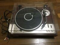 Pioneer PL-A500 Direct Drive Full Auto Player Turntable Record player covercrack