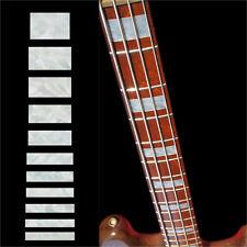 Fret Markers Inlay Sticker Decal Guitar & Bass Jazz Bass Block Fender - WP