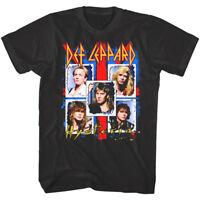 OFFICIAL Def Leppard Ugly Hysteria Men's T-shirt Rock Band Tour Merch