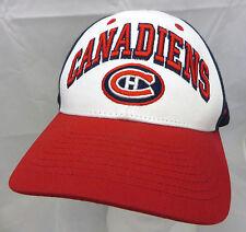Montreal Canadiens NHL Hockey baseball cap hat adjustable snapback