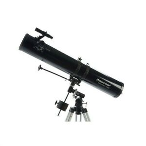 Celestron PowerSeeker 114EQ Telescope - 114 mm Aperture BONUS Astronomy software