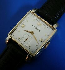 Vintage 1960sMans LONGINES, Stunning SilverDial, Manual Winding, Fully Serviced!