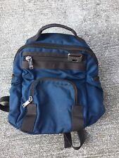 Tumi Men's Blue Mini Evanston Backpack Back Pack Tote Bag