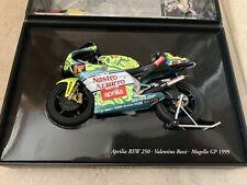 1/12 Minichamps Valentino Rossi Mugello GP 1999 Aprilia RSW 250 Bike