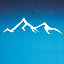 DECAL Mountain Vinyl sticker, wanderlust, adventure wild Car Window bumper Decal