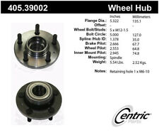 Wheel Bearing and Hub Assembly-Premium Hubs Front Centric 405.39002