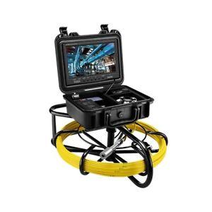 Digital Eyoyo Drain Sewer Inspection Endoscope Camera 40M 9inch 1000TVL 9600A