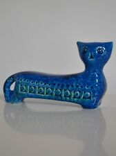 BITOSSI ALDO LONDI RIMINI BLUE (BLU) CAT - new & boxed Italian pottery