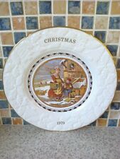 Coalport 1979 CHRISTMAS MORNING Christmas Plate,ORIGINAL Pratt Print